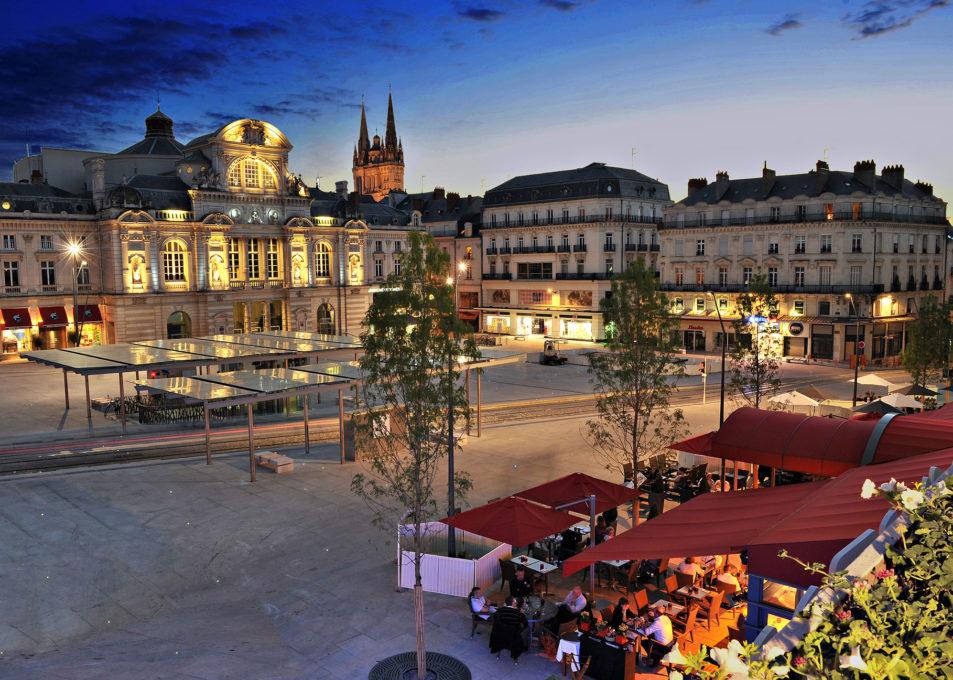 Hotel sur Angers Place du Ralliement